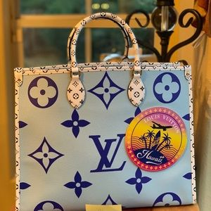 Authentic Louis Vuitton Onthego Hawaii Limited